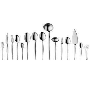 Ralph Kramer Finesse 72 Piece Stainless Steel Flatware Set