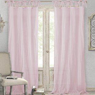 fancy plush design moorish tile curtain. Save to Idea Board Pink Curtains  Drapes Birch Lane