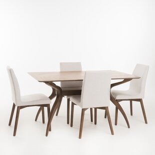 Amazing Dougal 5 Piece Dining Set