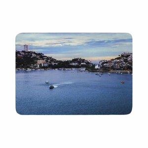 Nick Nareshni Puerto Rico Coastline Photography Memory Foam Bath Rug
