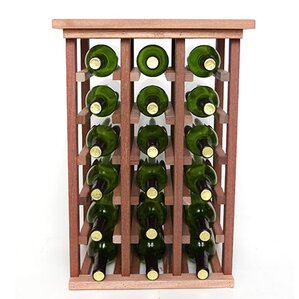 18 Bottle Floor Wine Rack by Wineracks.com