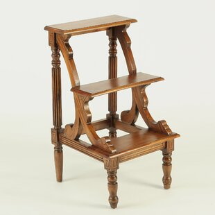 Well-liked Wooden Library Step Stools   Wayfair WA64