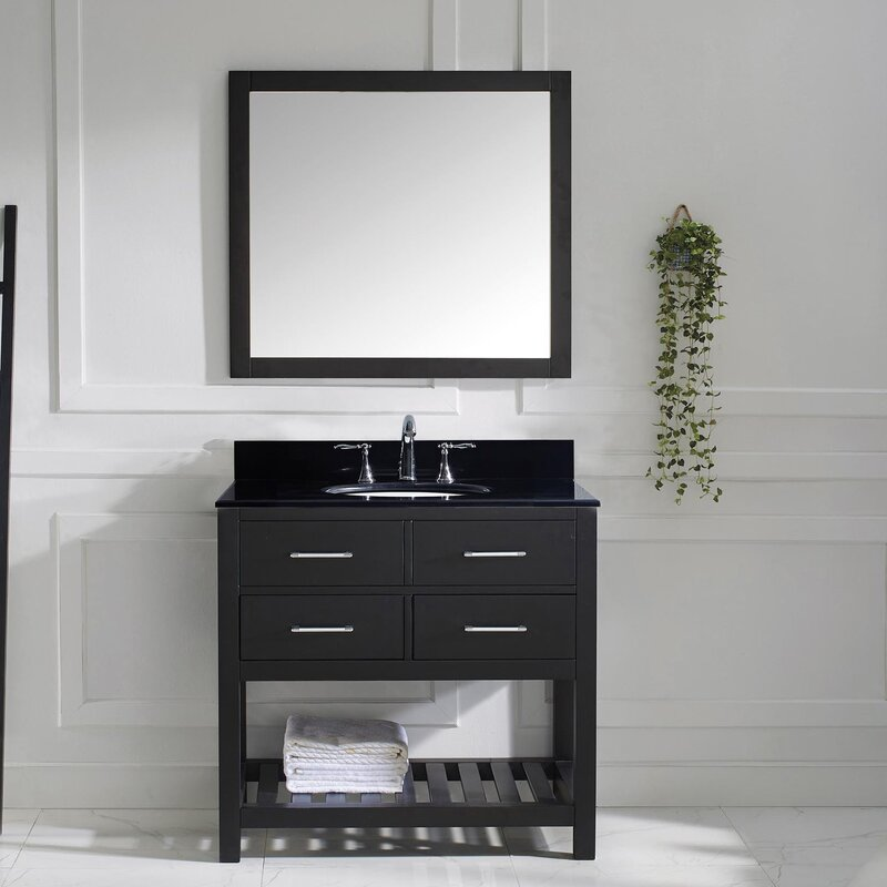 Willa Arlo Interiors Rishaan 37 Single Bathroom Vanity Set With