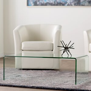 Glass Coffee Tables Youll Love Wayfair