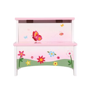 Butterfly Buddies Step Stool with Storage by Guidecraft