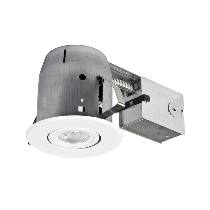 Globe electric company ic rated swivel 4 recessed lighting kit ic rated swivel 4 recessed lighting kit mozeypictures Gallery