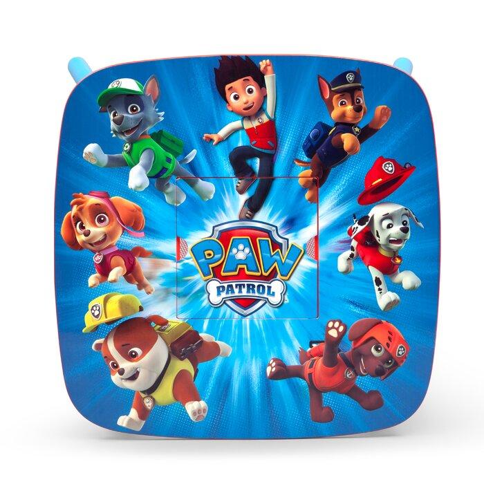 Delta Children Nick Jr. Paw Patrol Kids 3 Piece Table and Chair Set ...