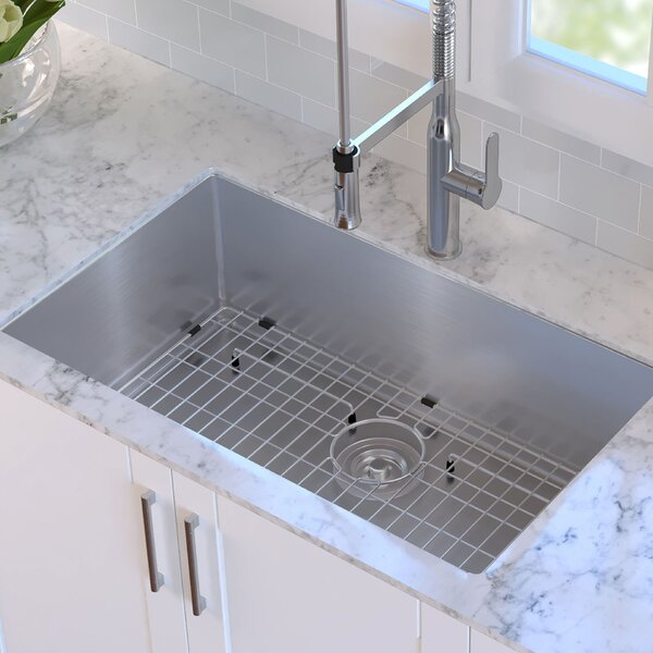 kitchen sinks seattle kraus 32 quot x 19 quot undermount kitchen sink amp reviews wayfair 3052