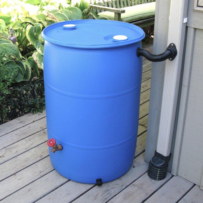 Diy Rain Barrel Diverter Parts Kit