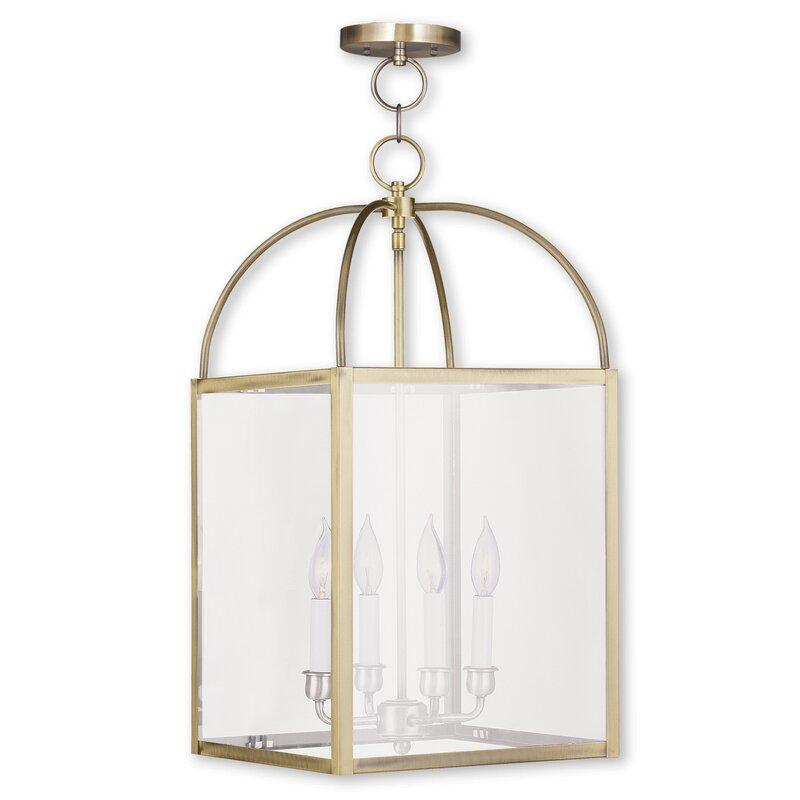 Brundidge 4-light Square/rectangle Chandelier