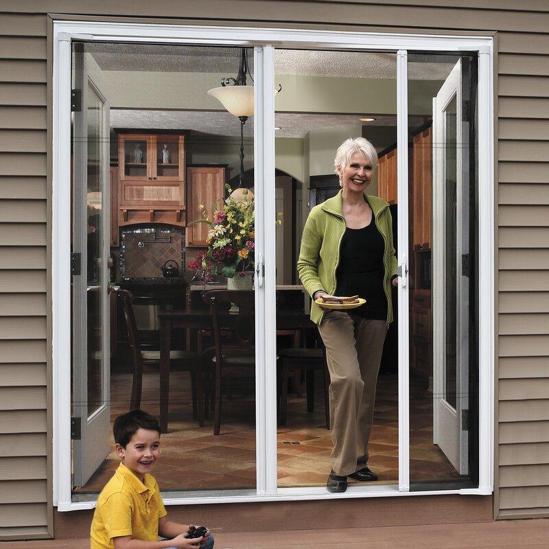 Brisa Retractable Screen Door