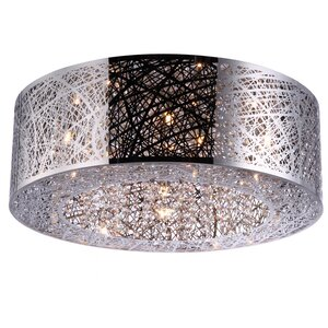 Alya 9-Light Outdoor Flush Mount