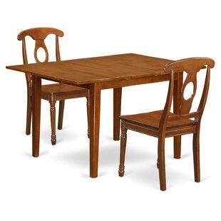 Lorelai 3 Piece Dining Set