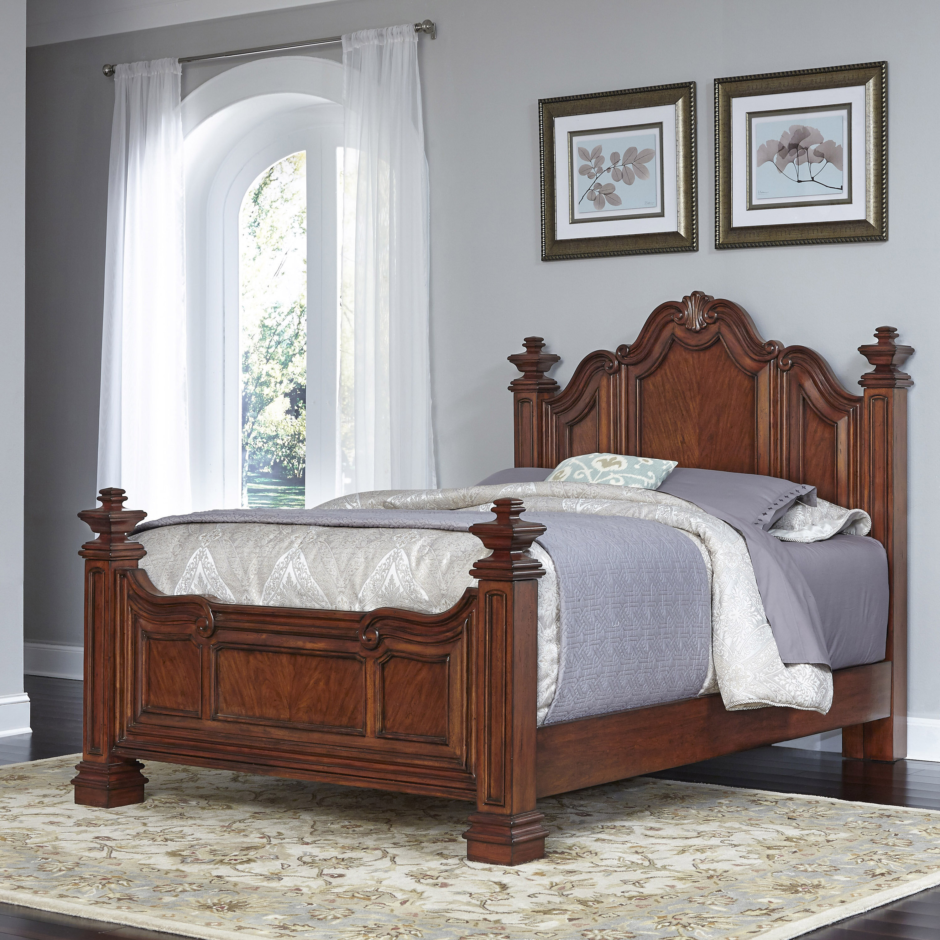 Home Styles Santiago Panel Bed Wayfair