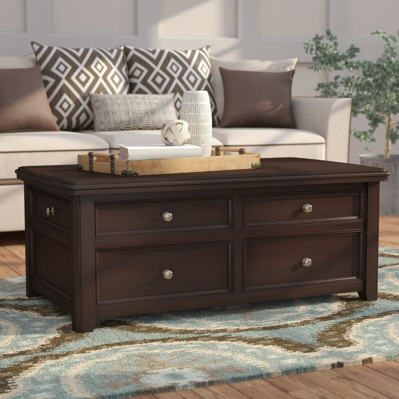 Exceptionnel Hancock Trunk Coffee Table With Lift Top