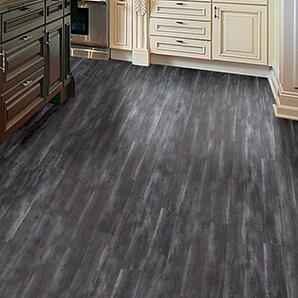 "AllAmericanHardwood Timeless Revolution 7"" x 48"" x 7mm Canadian Maple Laminate Flooring  Color: Peppercorn"