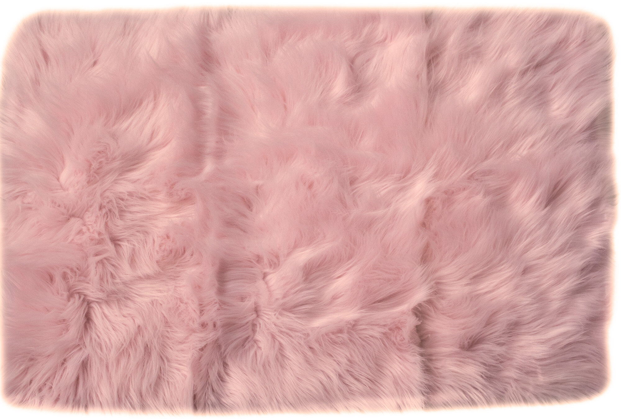 House Of Hampton Charlotte Hand Woven Faux Sheepskin Light Pink Area Rug Reviews Wayfair