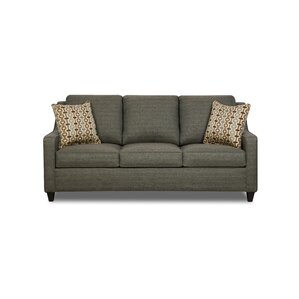 Simmons Upholstery Destin Hide-A-Bed Sleeper Sofa by World Menagerie