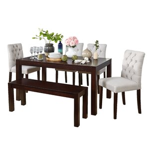 Gardners 6 Piece Dining Set by Darby Home Co