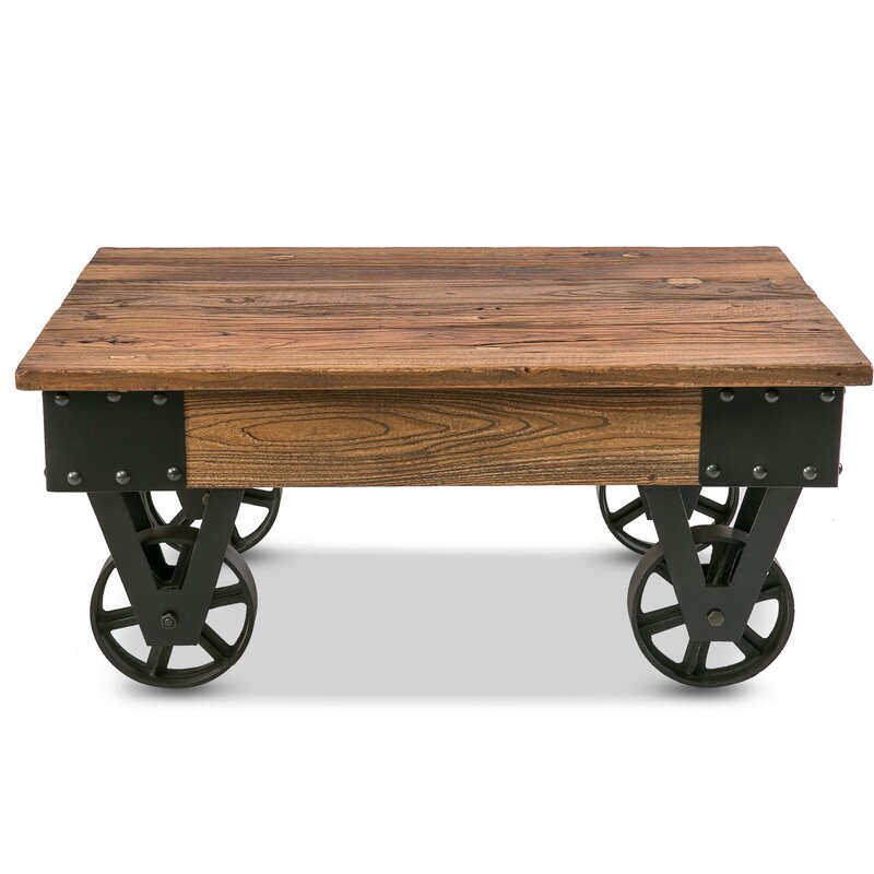 Impressive Industrial Coffee Table Decoration Ideas