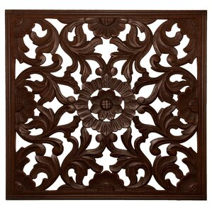 Wood Medallion Wall Decor distressed wall accents you'll love | wayfair