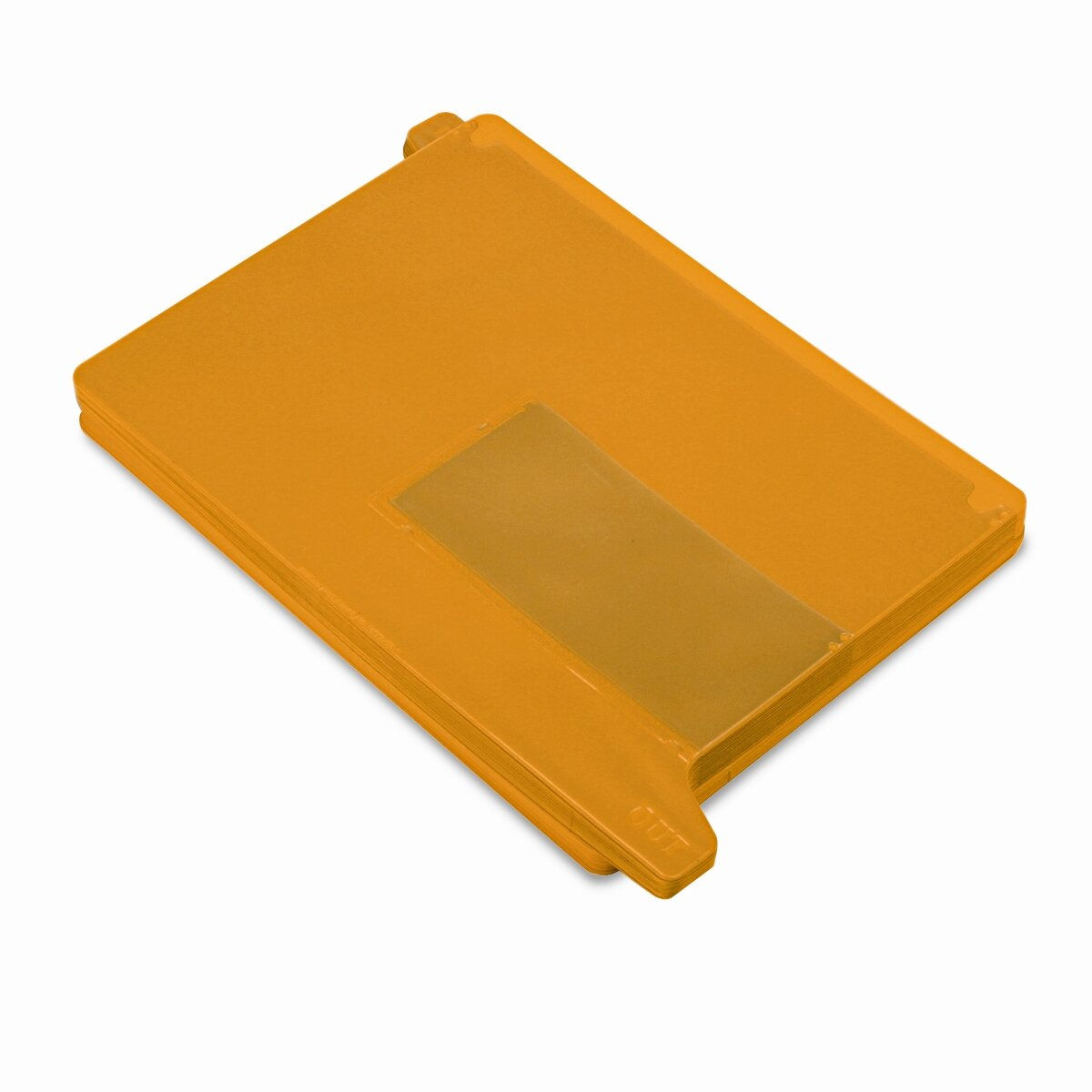 Smead End Tab Out Guides with Pockets, Vinyl, Letter, Yellow, 25/Box ...