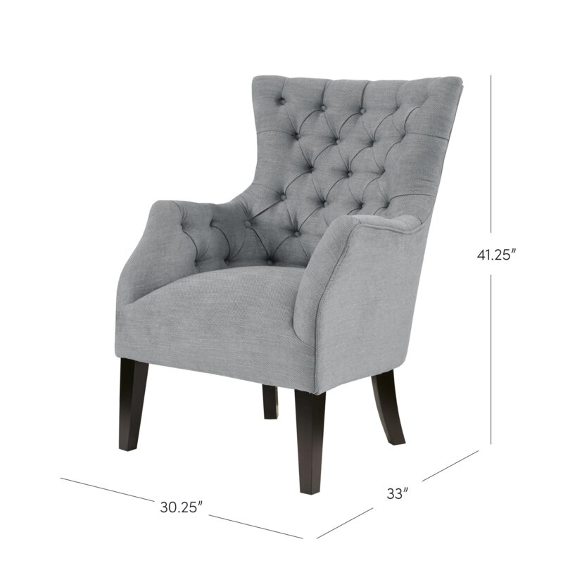 steelton button tufted wingback chair - Tufted Wingback Chair