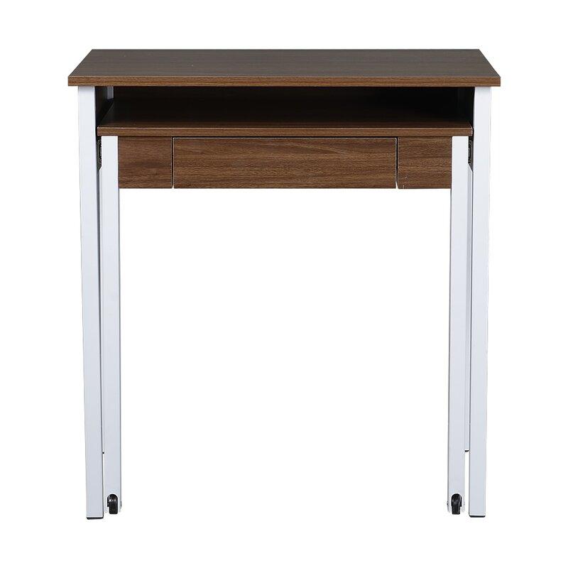 compact retractable writing desk