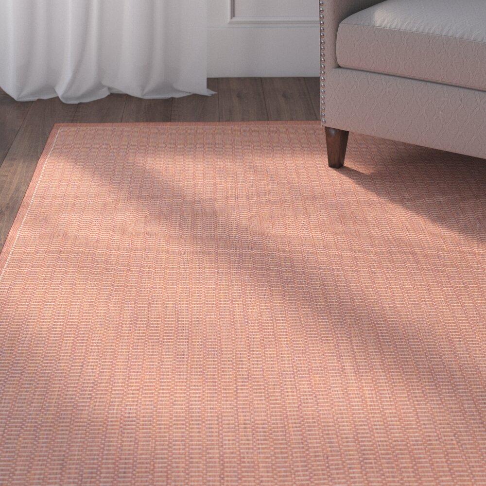 Adelmo Terracotta Indooroutdoor Area Rug Reviews Joss Main
