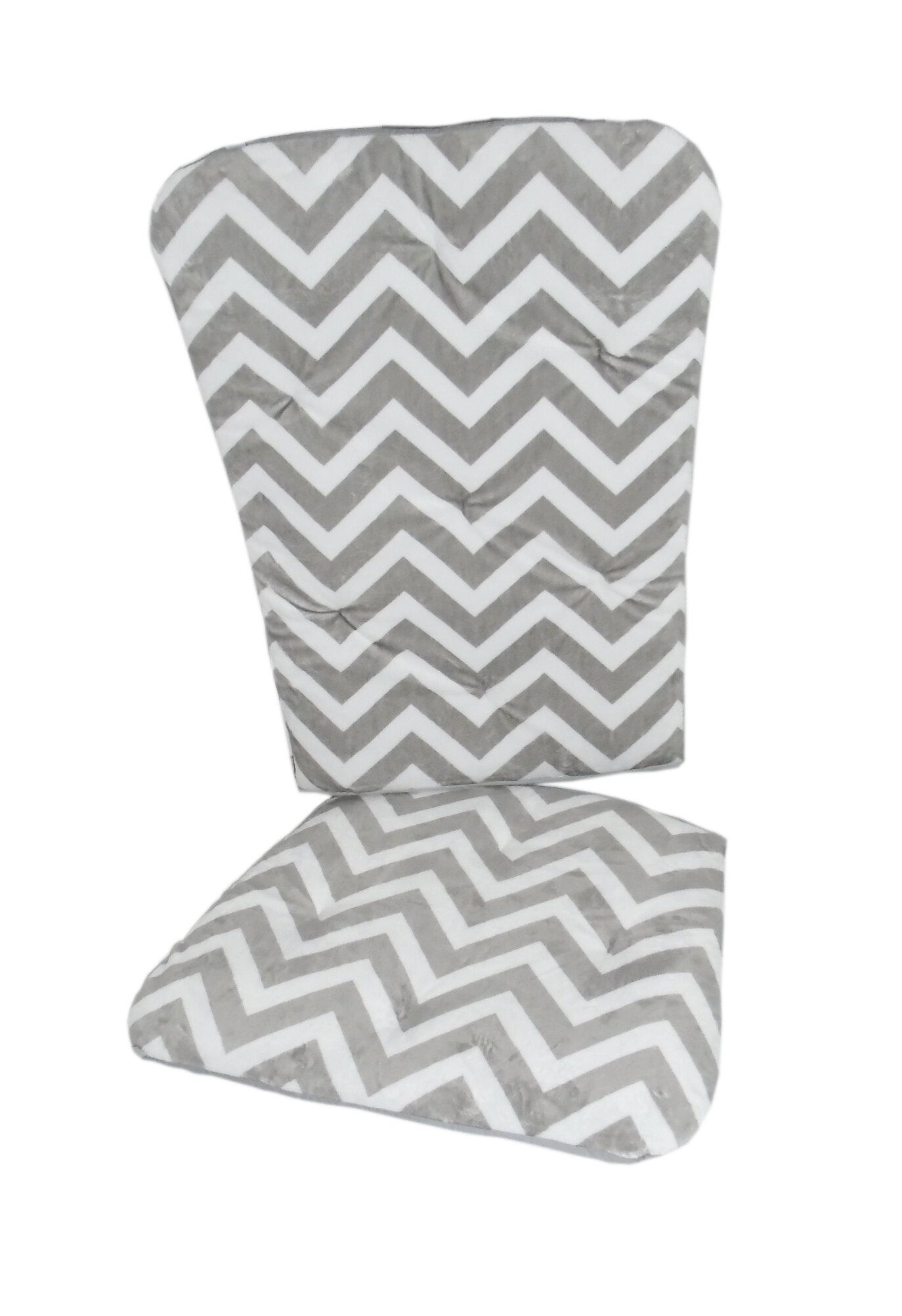 Delicieux BabyDoll Bedding Minky Chevron Rocking Chair Cushion   Wayfair