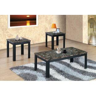 Piece Black Coffee Table Set Wayfair - Wayfair black coffee table