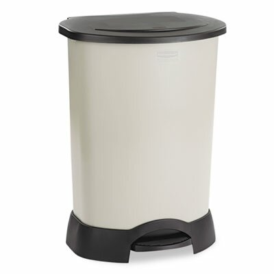 rubbermaid commercial products rubbermaid commercial container 30 gallon step on trash can u0026 reviews wayfair