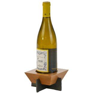 Lenhardt 1 Bottle Tabletop Wine Rack