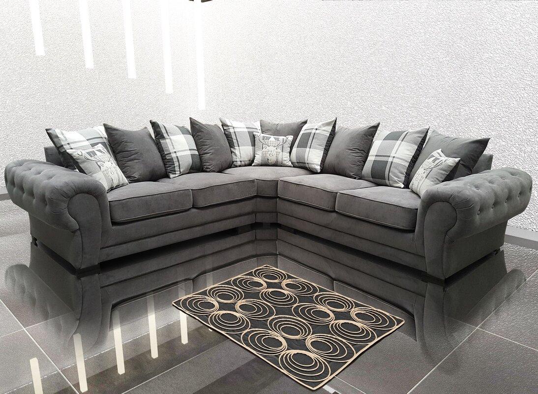 Bel Tage Verona Corner Sofa Reviews Wayfair Co Uk # Muebles Seys Verona