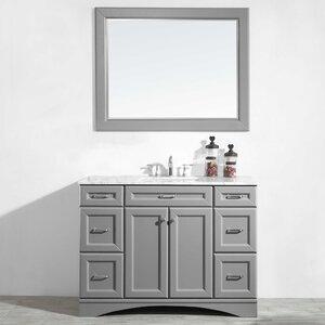 Jonina 48 Bathroom Vanity Set with Mirror