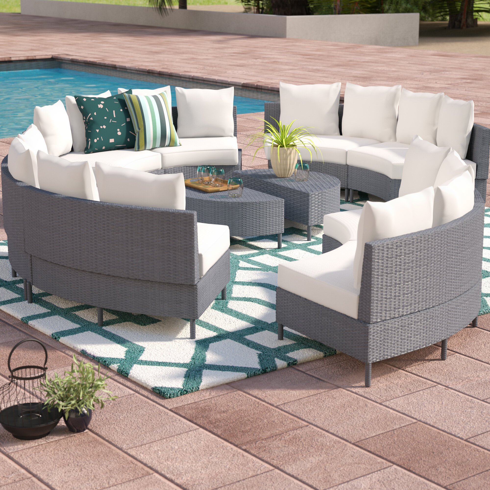 sectional cushions pdx ansonia piece set rosecliff with patio outdoor heights sale