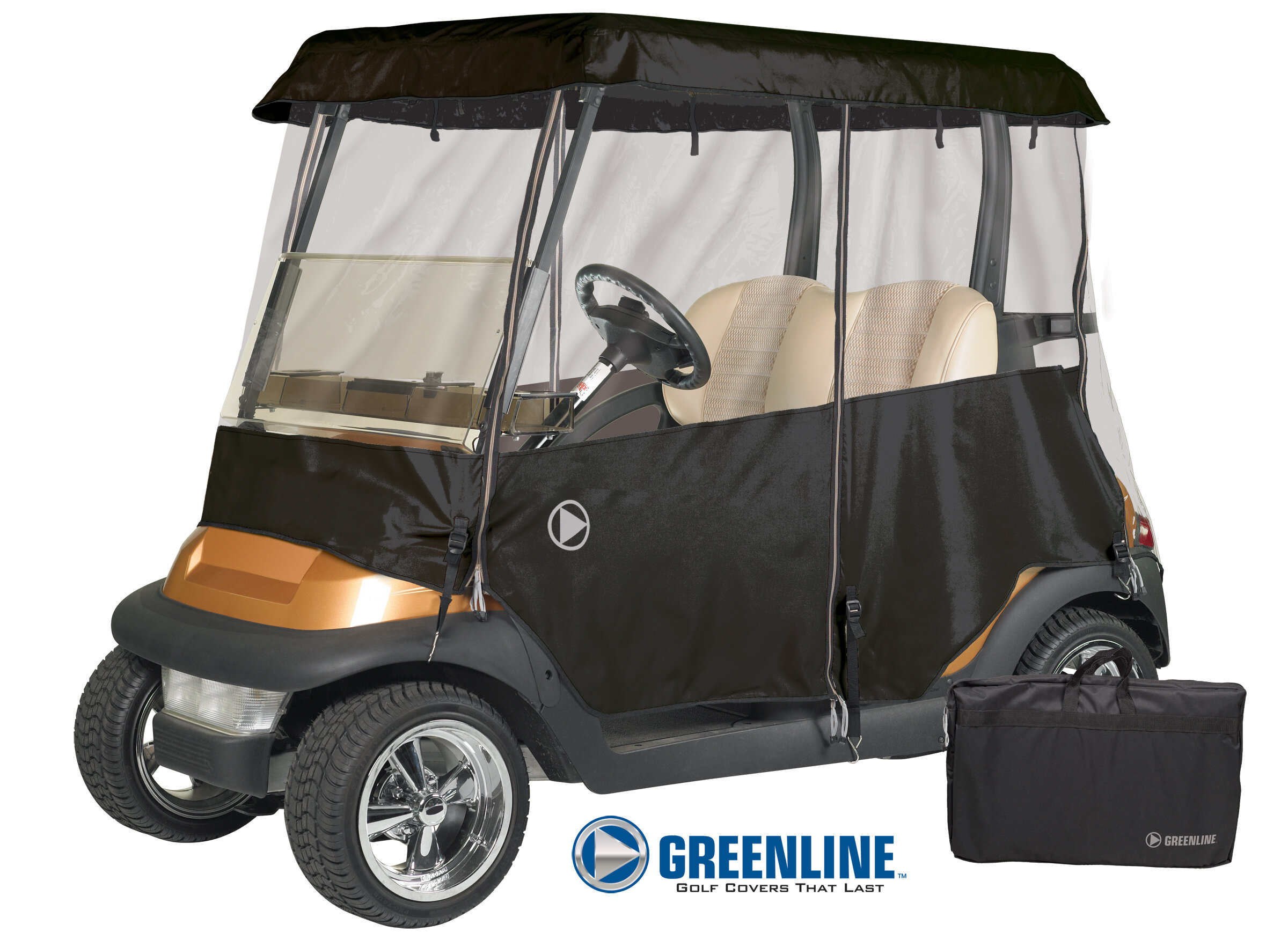 Eevelle Greenline Golf Cart Cover & Reviews | Wayfair on upholstery for trucks, upholstery for vehicles, upholstery for tractors,