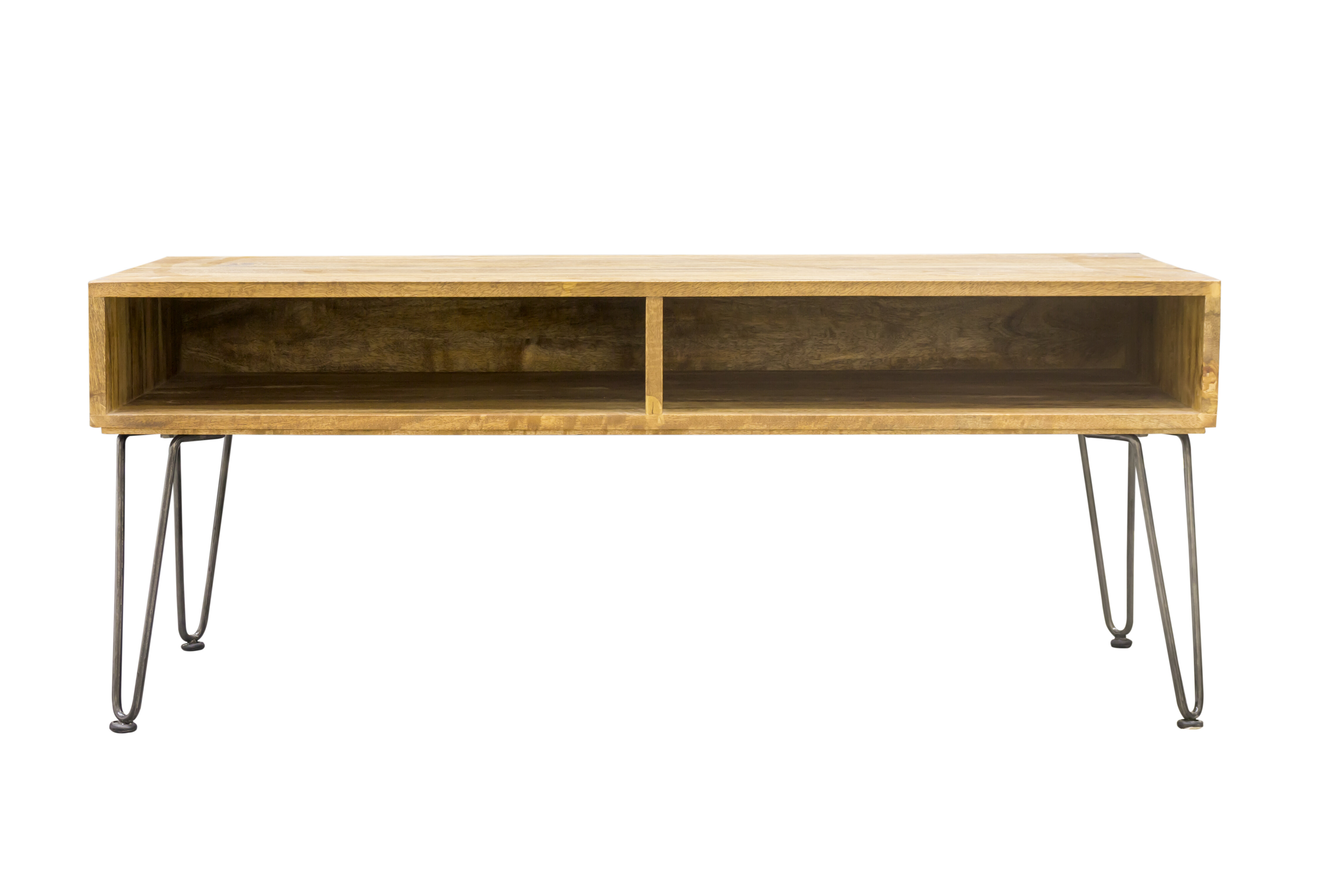 Villebois Solid Wood Coffee Table with Storage