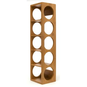 Bamboo 5 Bottle Tabletop Wine Rack by Lipper International