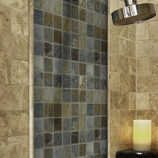 "California Gold 2"" x 2"" Slate Mosaic Tile"