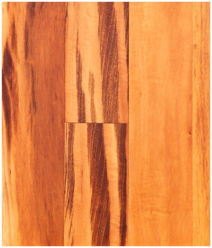"""Easoon Usa 5 Engineered Manchurian Walnut Hardwood: Easoon USA 5"""" Engineered Brazilian Tigerwood Hardwood"""