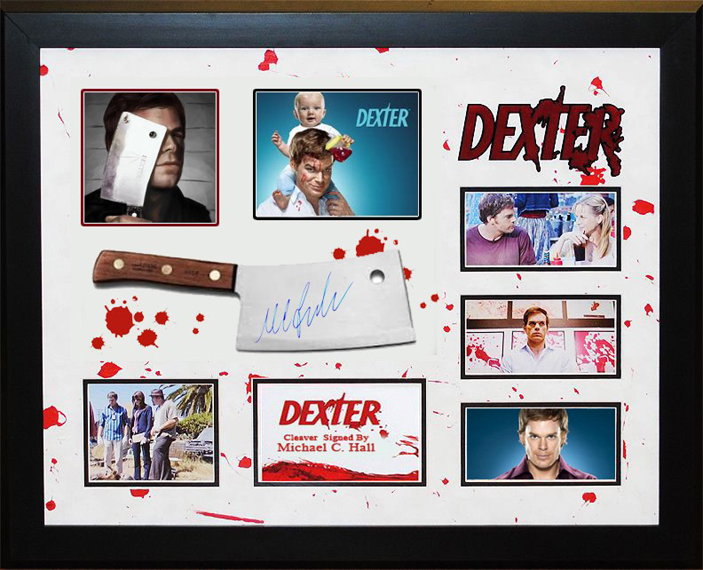 LuxeWest American Television Series \'Dexter\' Signed Meat Cleaver ...