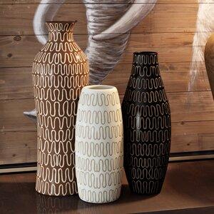 3 Piece Tolek Vase Set