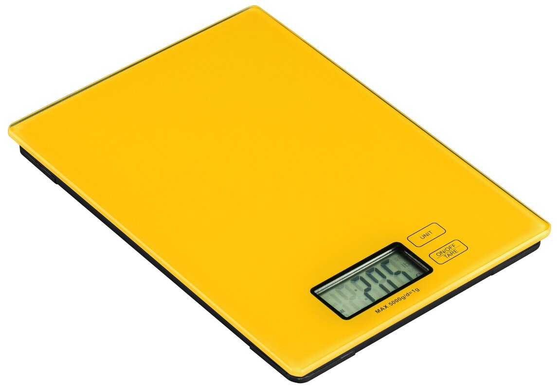 All home zing digital kitchen scale reviews for Dayroom yellow bedroom