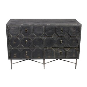 Yulin 6 Drawer Double Dresser by 17 Stories