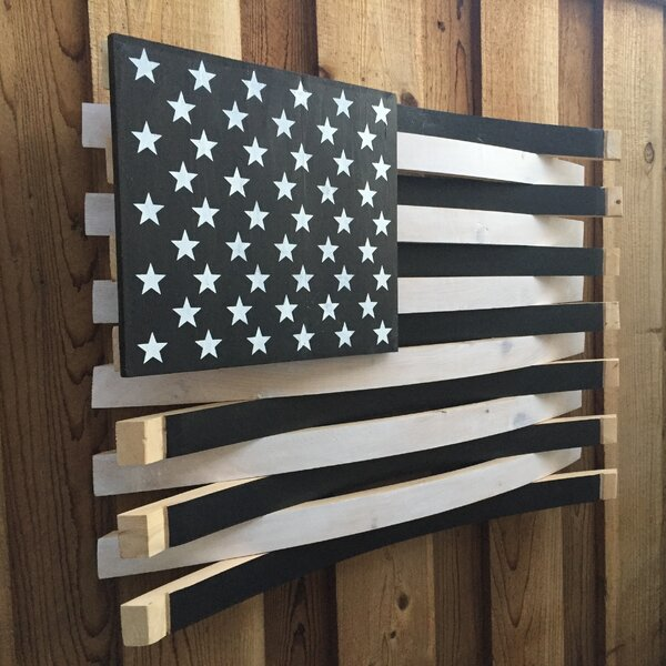 Martellas Wine Barrel American Flag Wall Décor | Wayfair Part 23