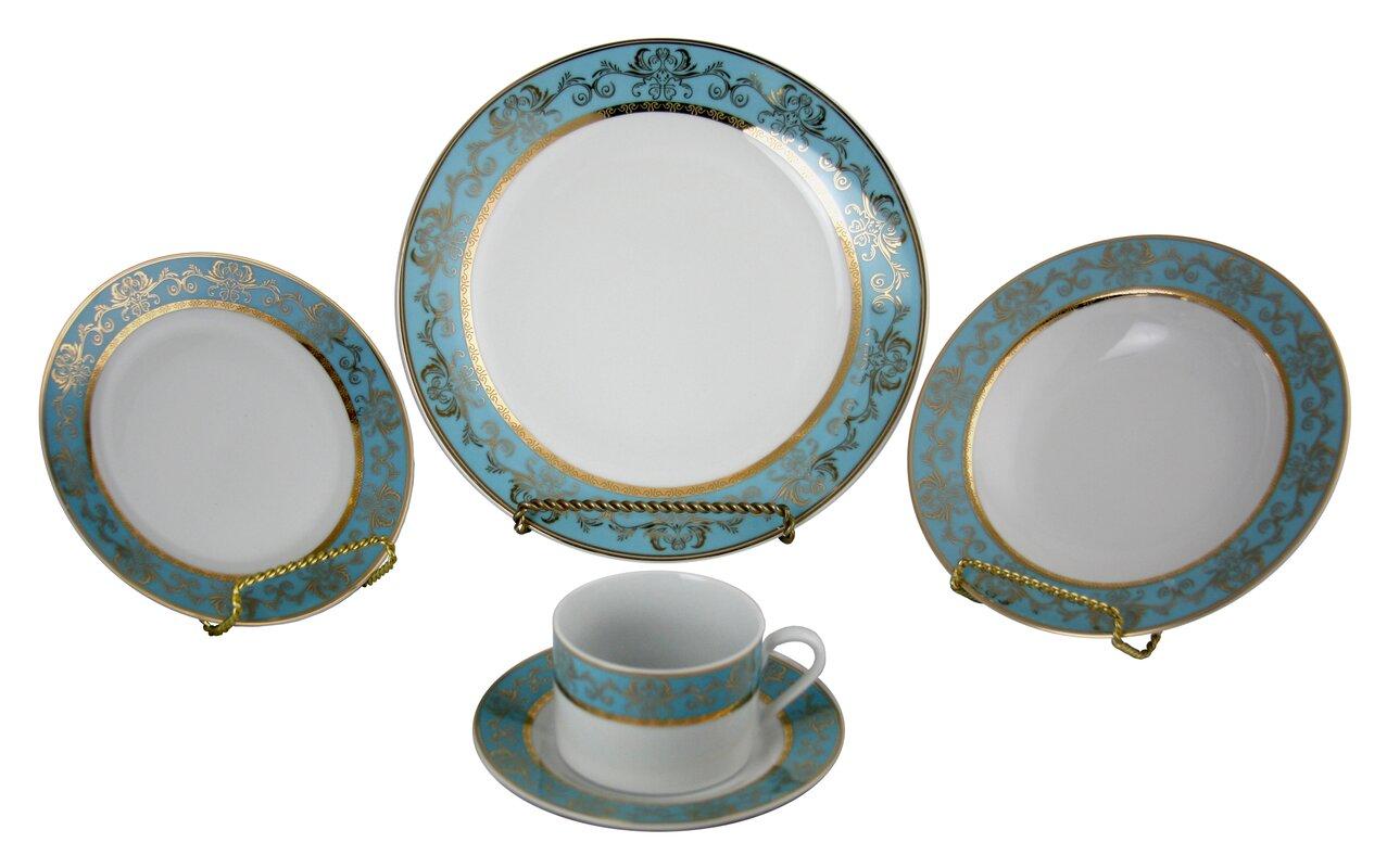 Montezuma 40 Piece Dinnerware Set Service for 8  sc 1 st  Wayfair & Astoria Grand Montezuma 40 Piece Dinnerware Set Service for 8 ...