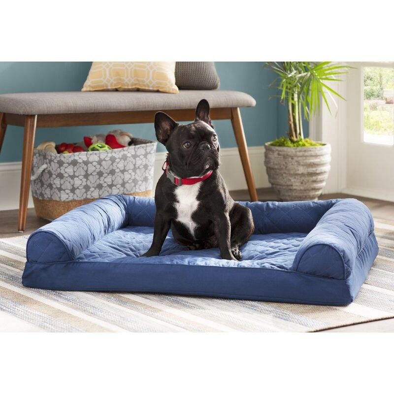 Bernice Quilted Orthopedic Dog Sofa