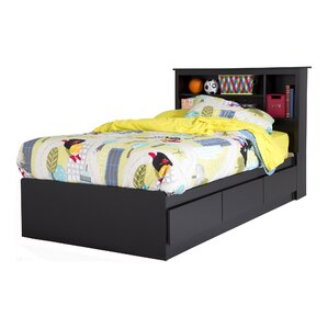 Fusion Twin Bed with Drawers by South Shore