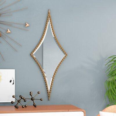 Overlap Diamond Mirror Wayfair Ca